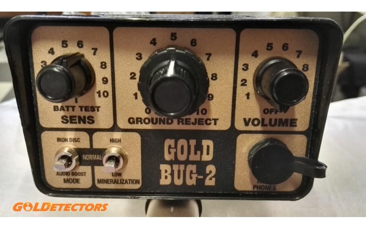 Metaldetector Fisher Gold Bug 2