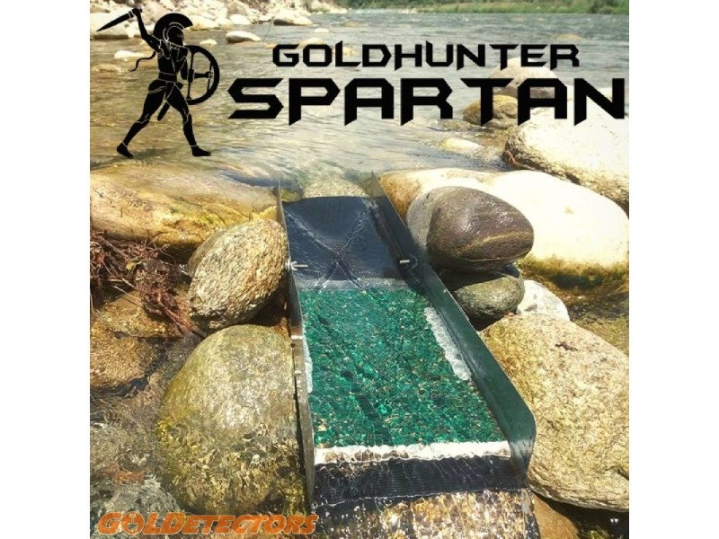 Canaletta tattica per ricerca oro alluvionale SPARTAN