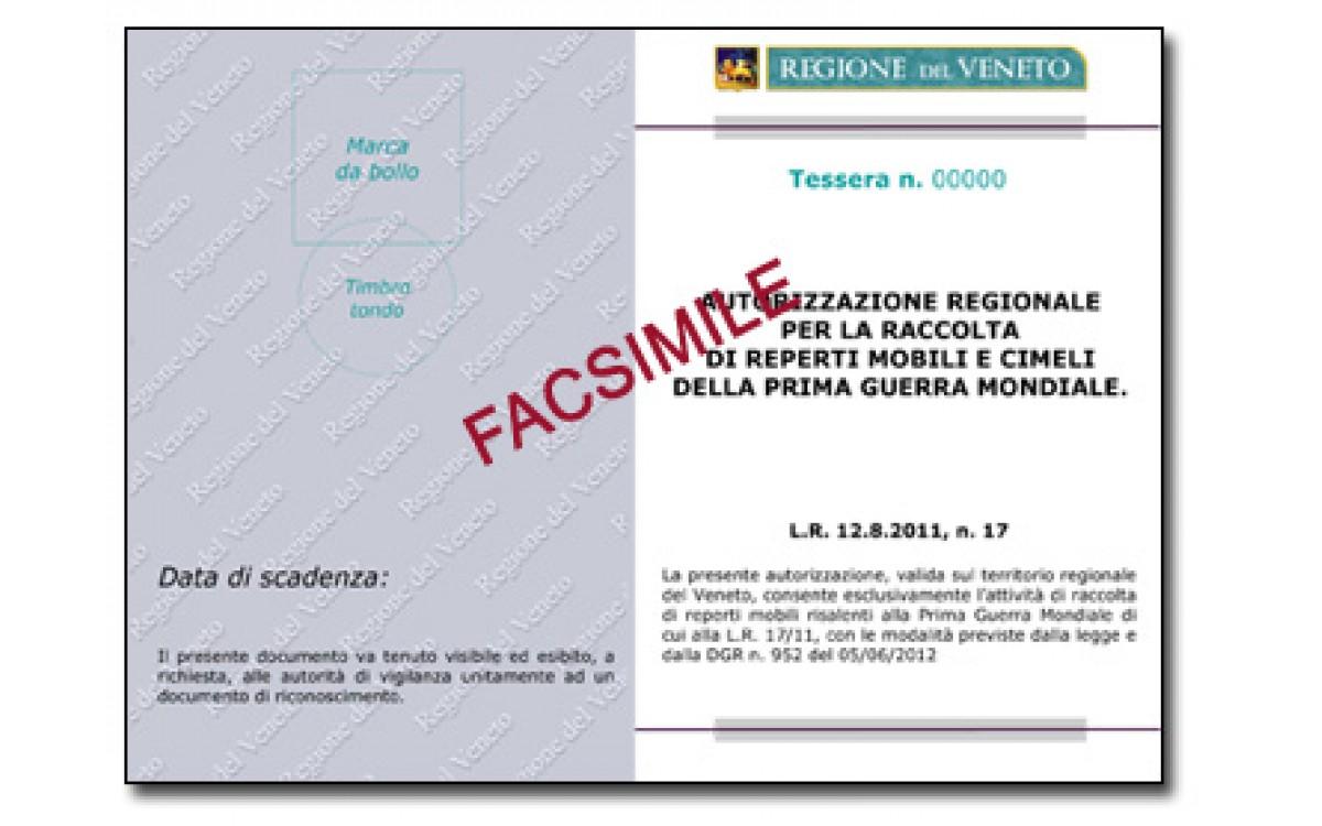 Richiesta del Patentino Veneto