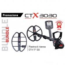 "Metaldetector Minelab CTX 3030 + piastra 17"" PROMO Bundle"
